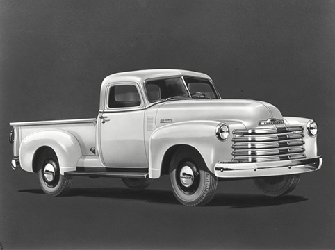 1947 Chevrolet 3100 Series Gallery Front Side View
