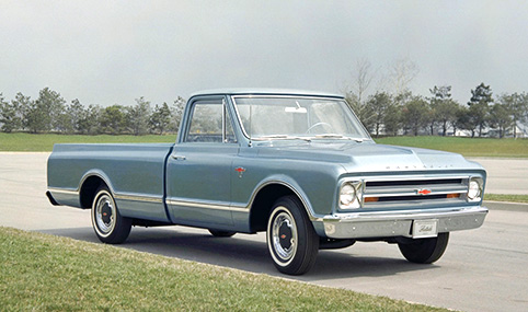 chevrolet pick up 1970
